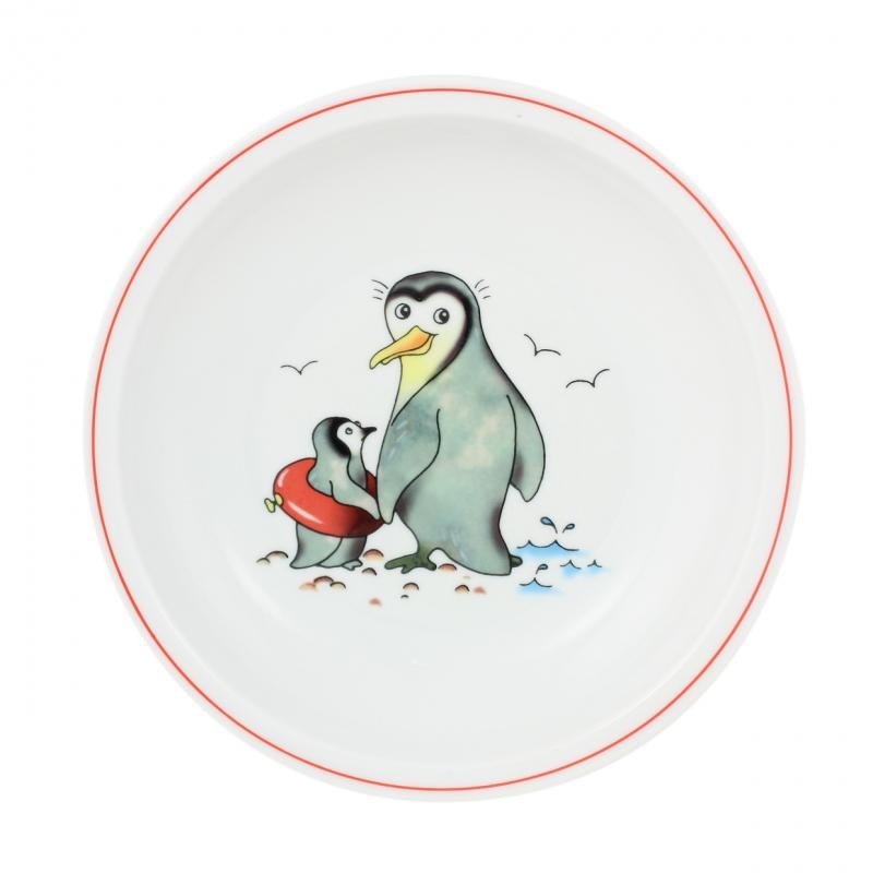 Kindergedecke | Pinguin | Teller tief 20cm