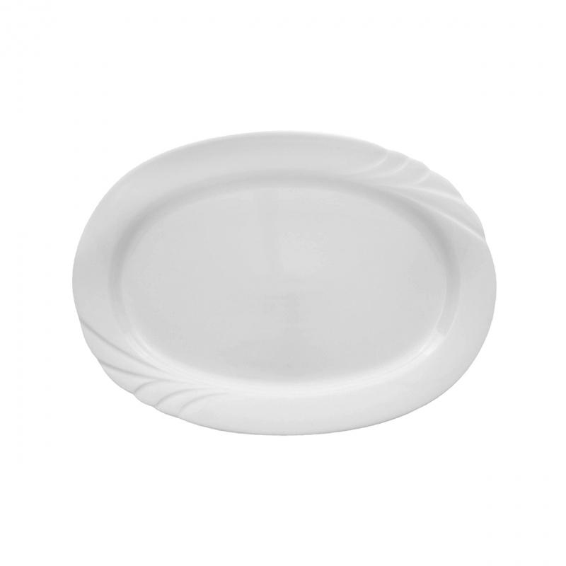 Ambiente | Weiß | Platte oval 28cm