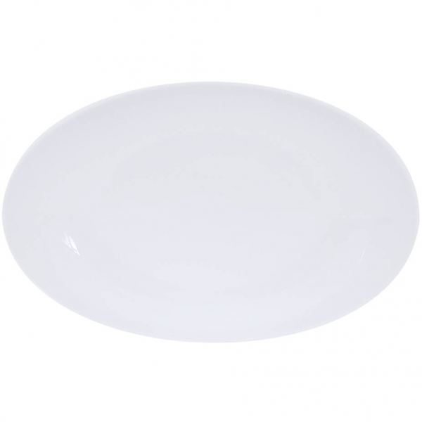 Simply Coup   Weiss   Platte oval coup 38cm