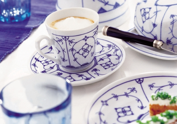 Tallin| Indischblau|Kaffeeset 18-tlg.