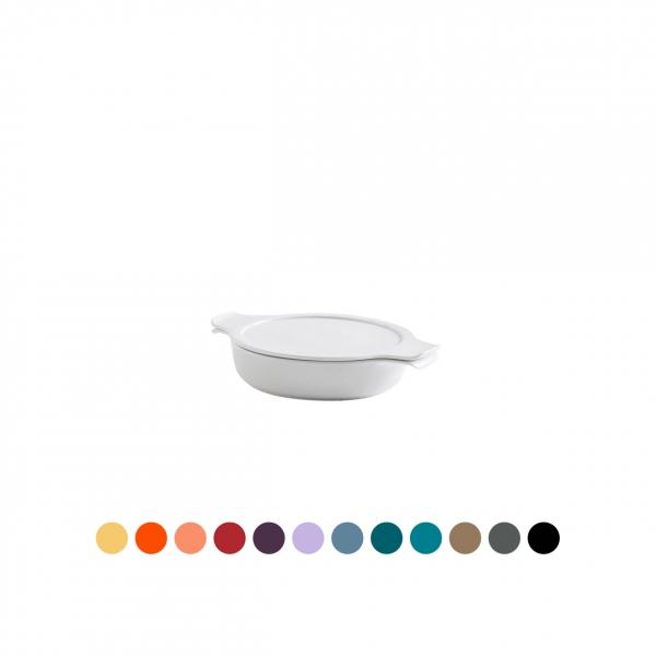 COOK & SERVE | Topf flach mit Deckel 0,30 l / 16 cm