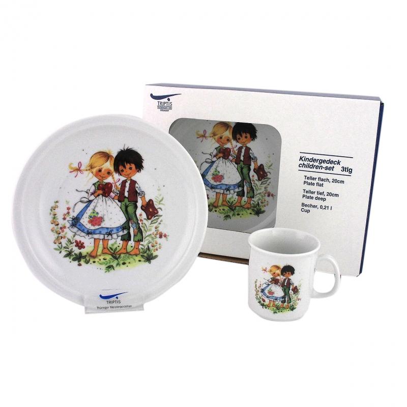 Kindergedecke | Hänsel & Gretel | Set 3tlg.