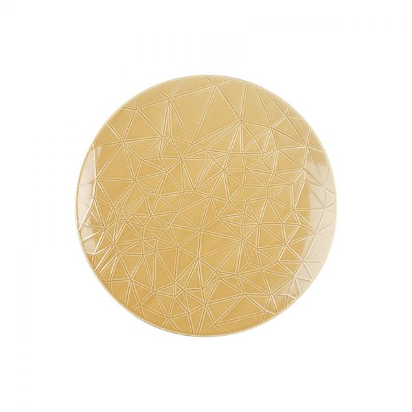 Kaleido | sahara gold | Teller flach coup 26 cm