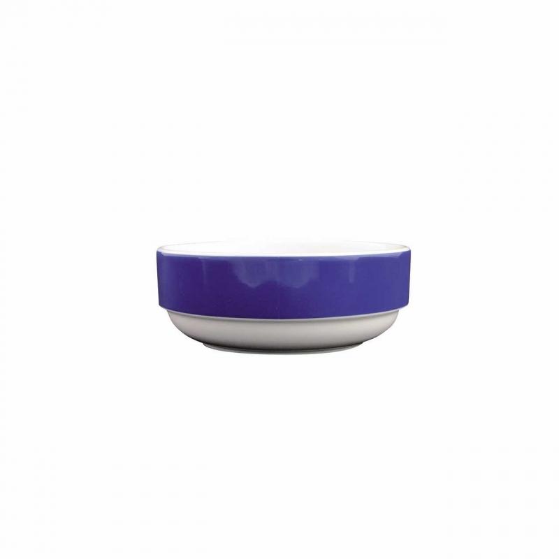 Color mit System | Blau | Schüssel rund niedrig 12cm