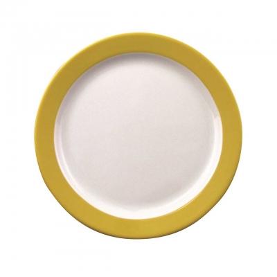 Color mit System | Gelb | Teller flach 24cm