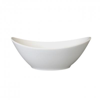 Universo | Weiß | Schüssel oval 20cm