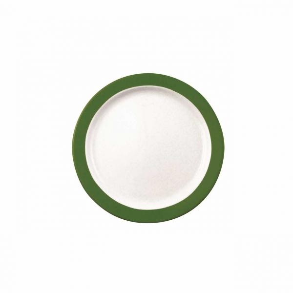 Color mit System   Dunkelgrün   Teller flach 19cm