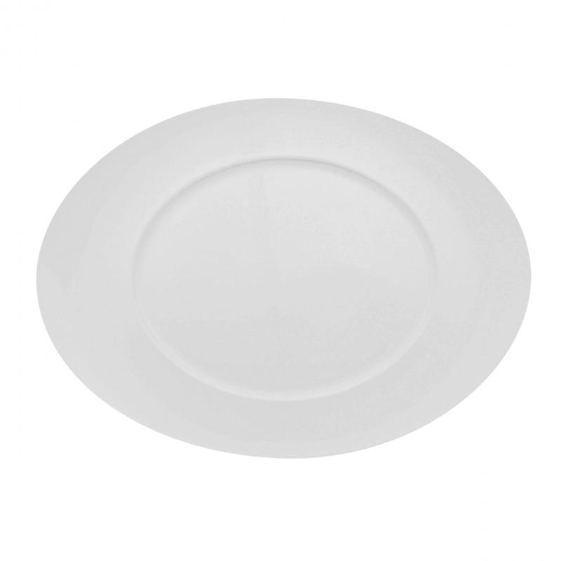Universo | Weiß | Teller oval 27cm