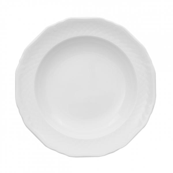 La Reine | Weiß | Teller tief 22cm