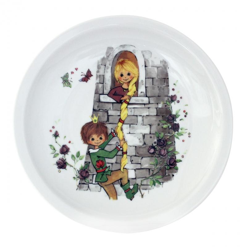 Kindergedecke | Rapunzel | Teller flach 20cm