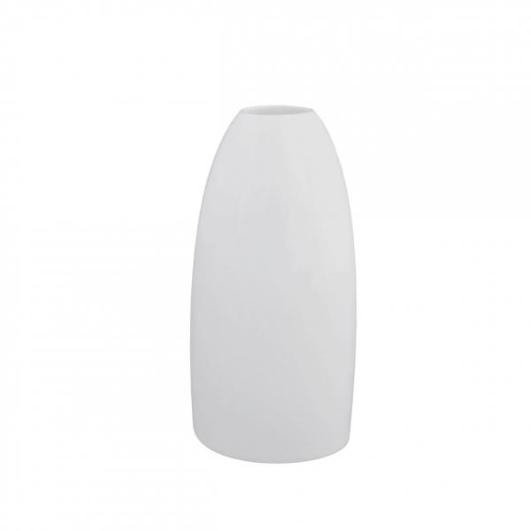 Universo | Weiß | Vase oval 15cm