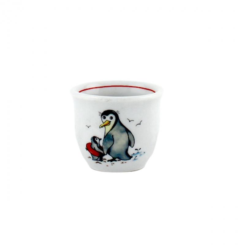 Kindergedecke | Pinguin | Eierbecher 4,5cm