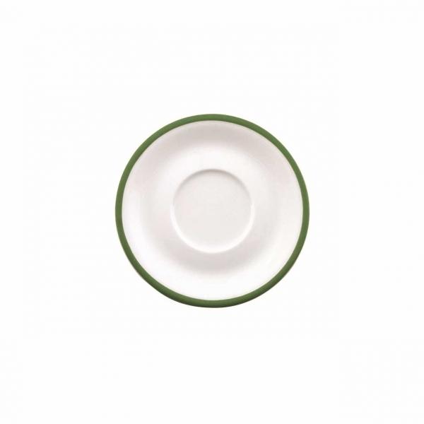 Color mit System | Dunkelgrün | Untertasse 14,5cm
