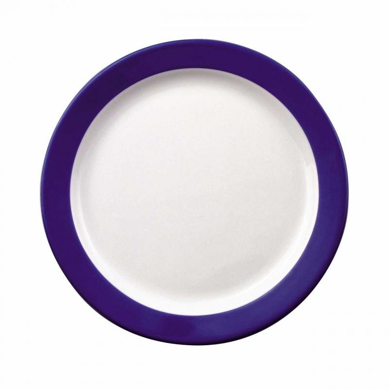 Color mit System   Blau   Teller flach 25,5cm