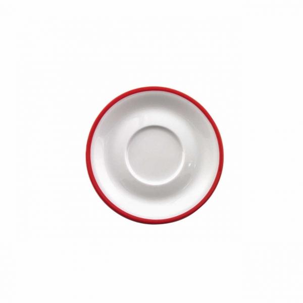 Color mit System | Rot | Untertasse 14,5cm