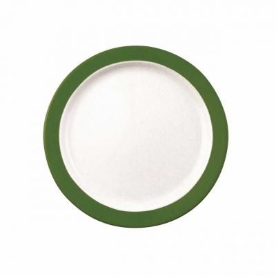 Color mit System | Dunkelgrün | Teller flach 24cm
