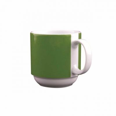 Color mit System | Dunkelgrün | Becher mit Henkel 0,30l