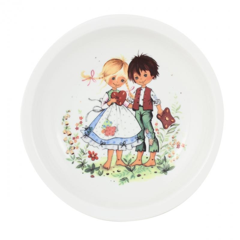 Kindergedecke | Hänsel & Gretel | Teller tief 20cm