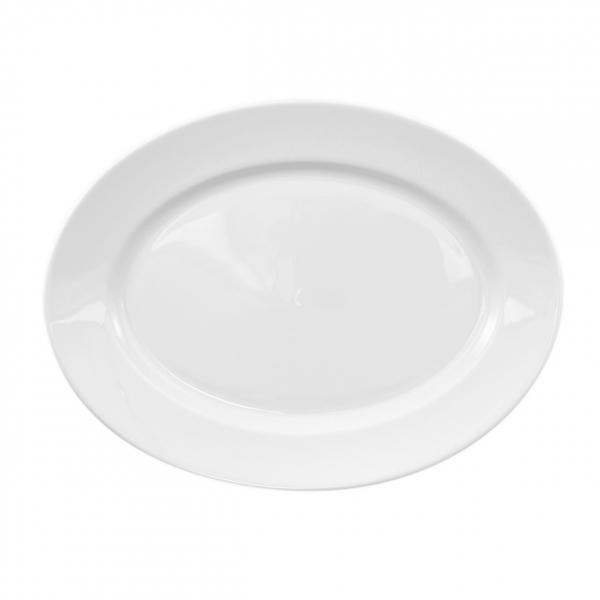 Primavera | Weiß | Platte oval 28cm