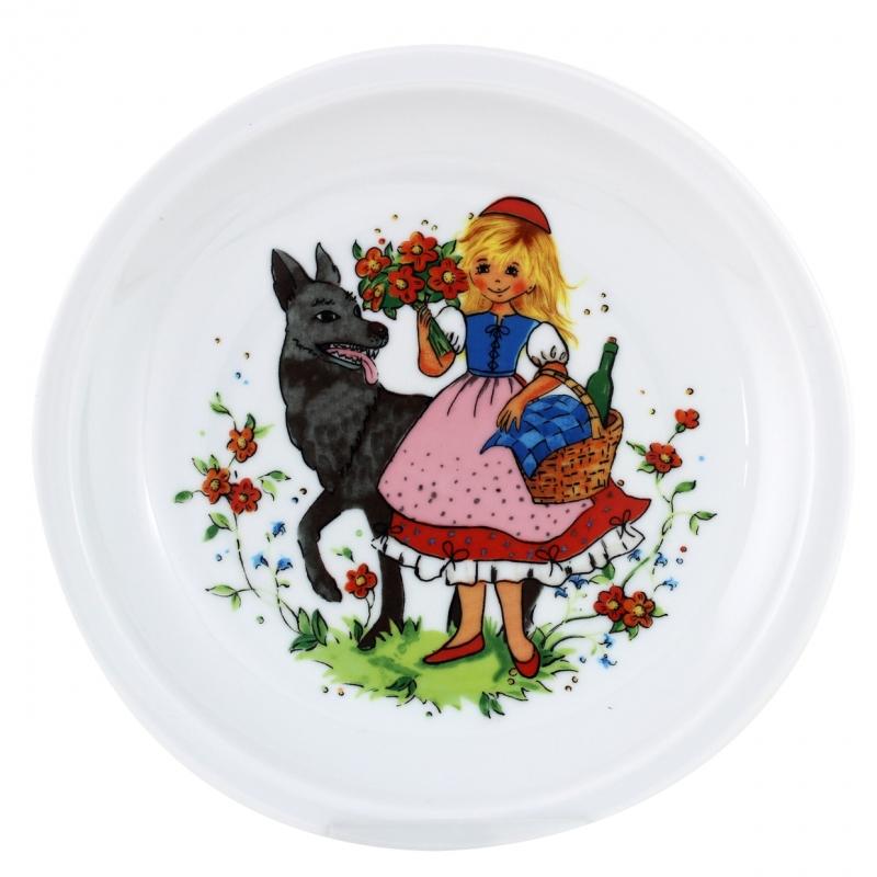 Kindergedecke | Rotkäppchen | Teller flach 20cm