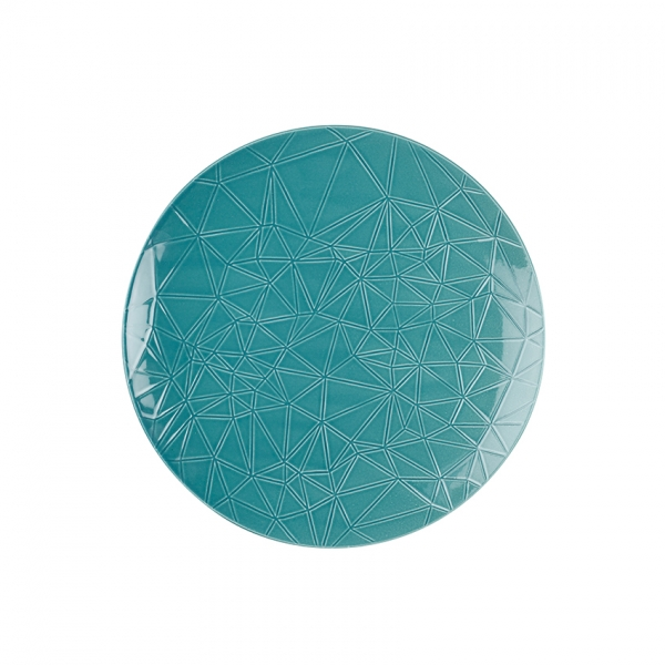 Kaleido | caribic teal | Teller flach coup 26 cm