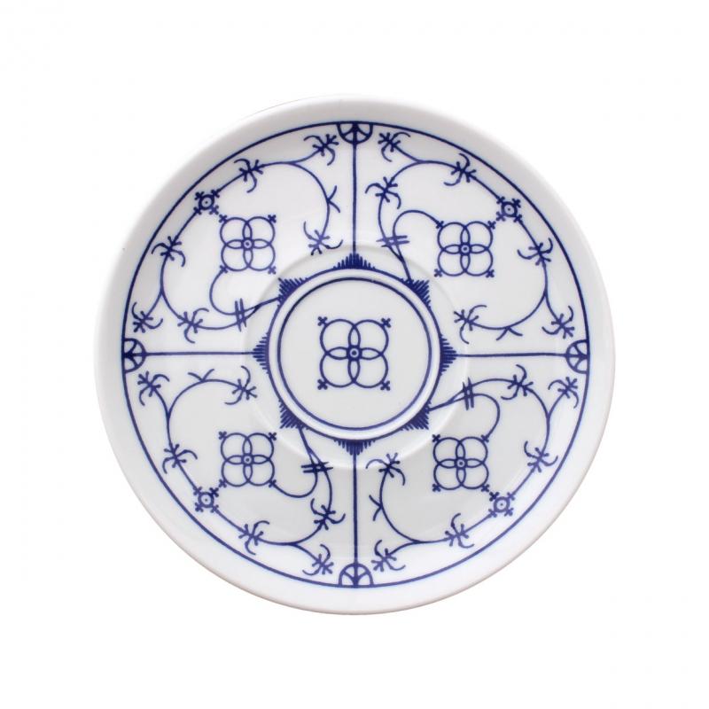 Tallin | Indischblau | Untertasse 14,5cm