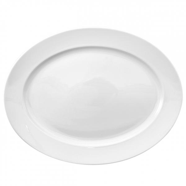 Primavera | Weiß | Platte oval 36cm