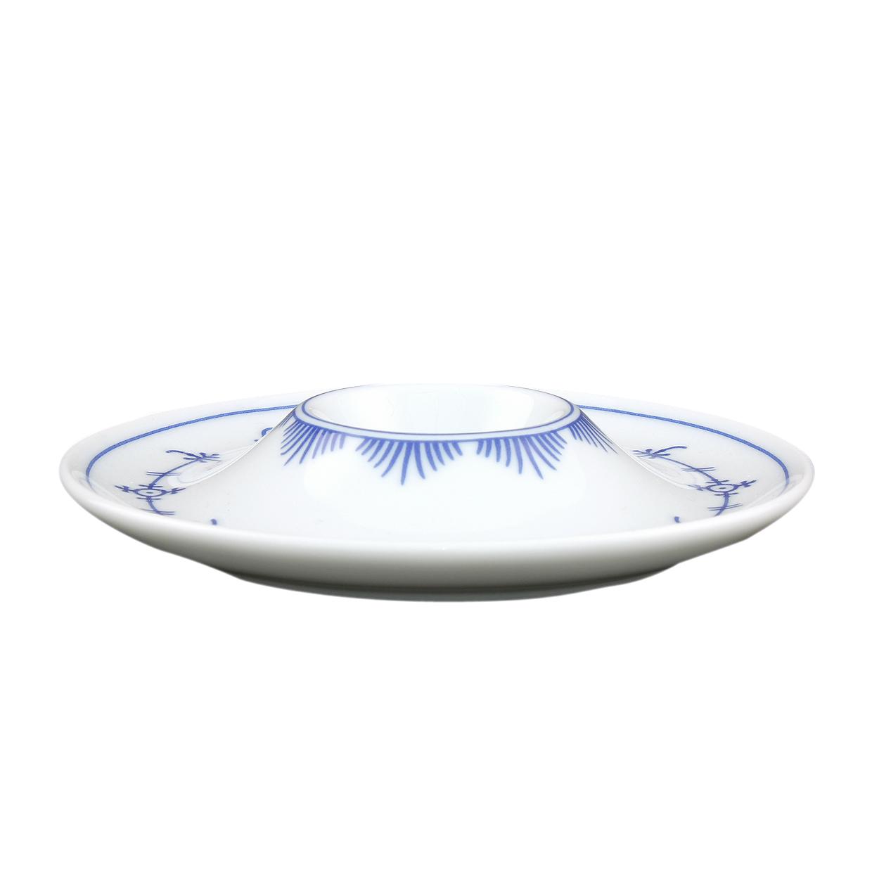 tallin indischblau eierbecher mit ablage 13cm winterling porzellan eschenbach. Black Bedroom Furniture Sets. Home Design Ideas
