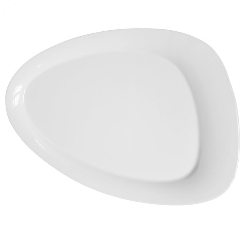 Calla | Weiß | Teller flach 38cm