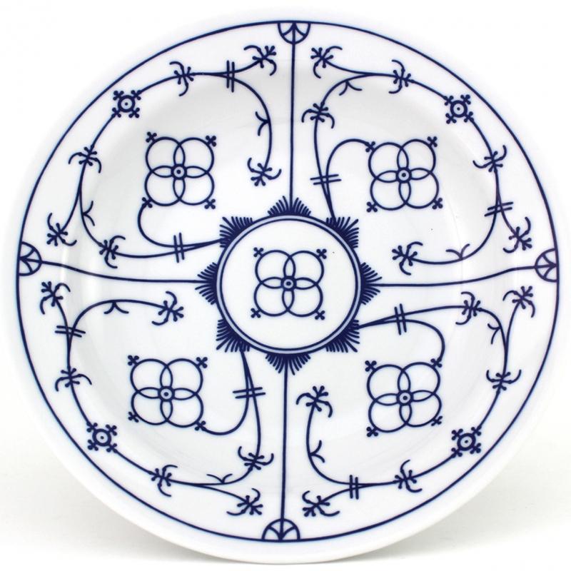 Tallin | Indischblau | Teller tief 22cm