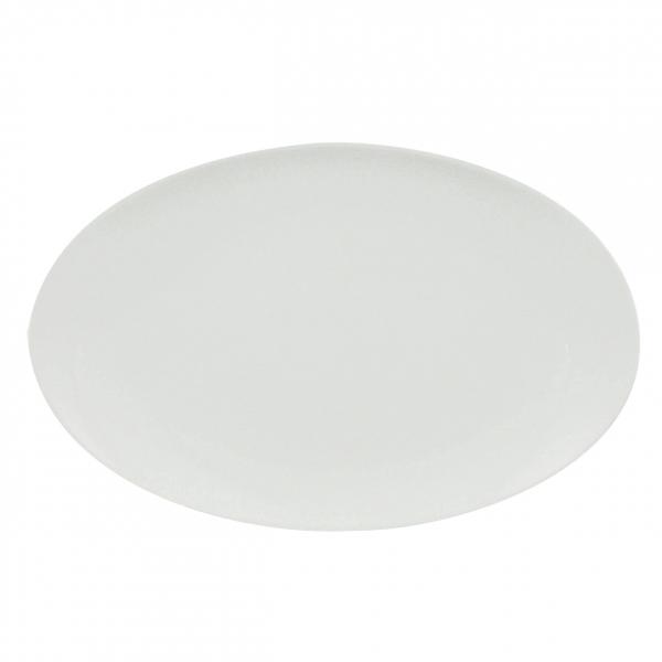 Universo | Weiß | Platte oval 32cm