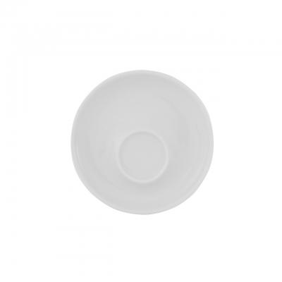 Baristar   Weiß   Untertasse mit Spiegel außen 11cm