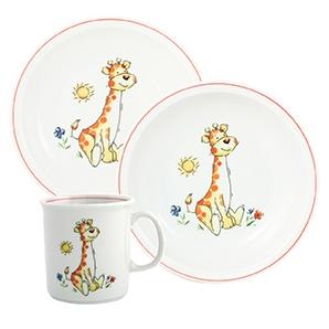 Kindergedecke | Giraffe | Set 3tlg.