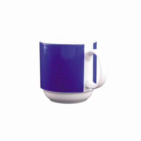 Color mit System | Blau | Becher mit Henkel 0,30l