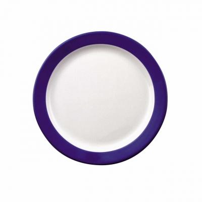 Color mit System   Blau   Teller flach 24cm