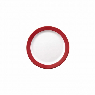 Color mit System   Rot   Teller flach 25,5cm