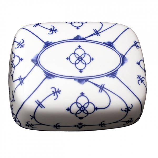Tallin | Indischblau | Butterdose Deckel 250g