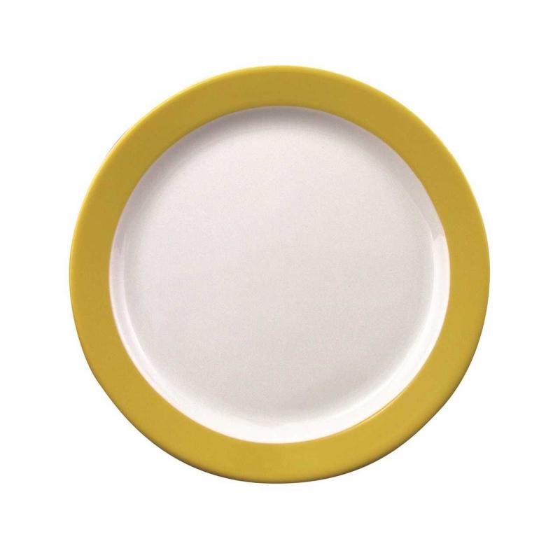 Color mit System   Gelb   Teller flach 24cm