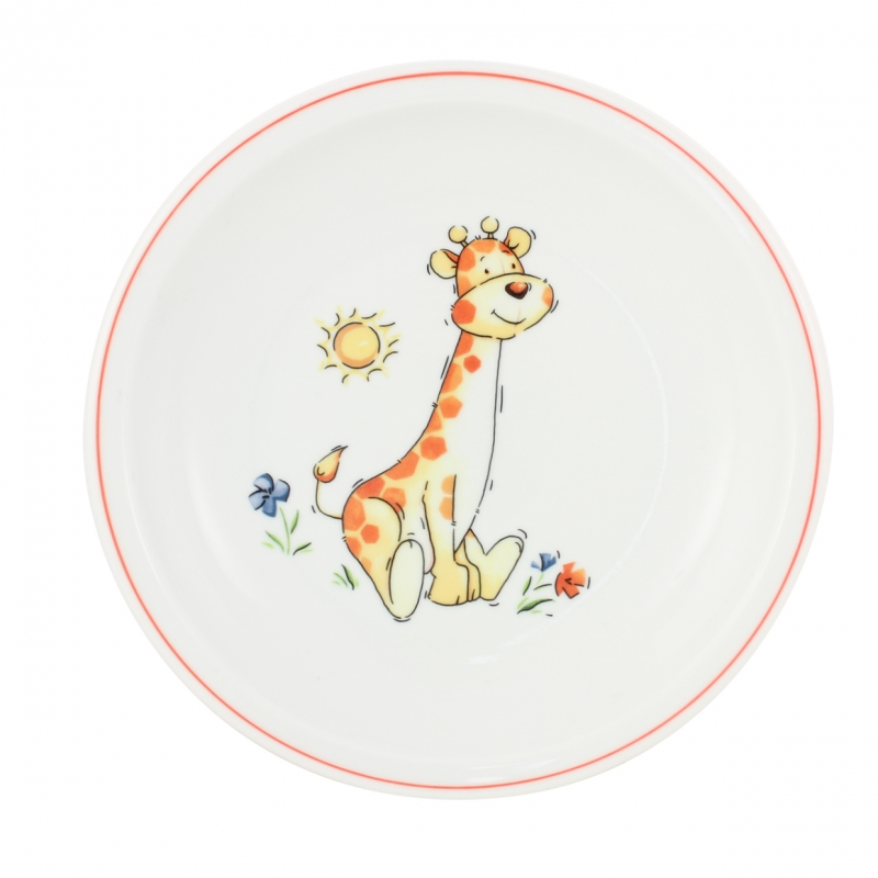 Kindergedecke | Giraffe | Teller flach 20cm