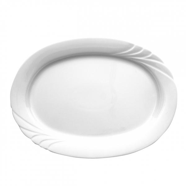Ambiente   Weiß   Platte oval 36cm
