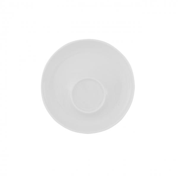 Baristar   Weiß   Untertasse mit Spiegel außen 16cm