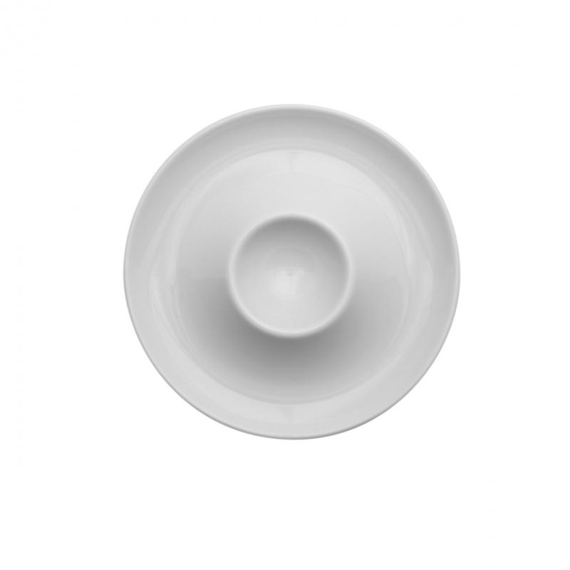 Today | Weiß | Eierbecher mit Ablage 13cm