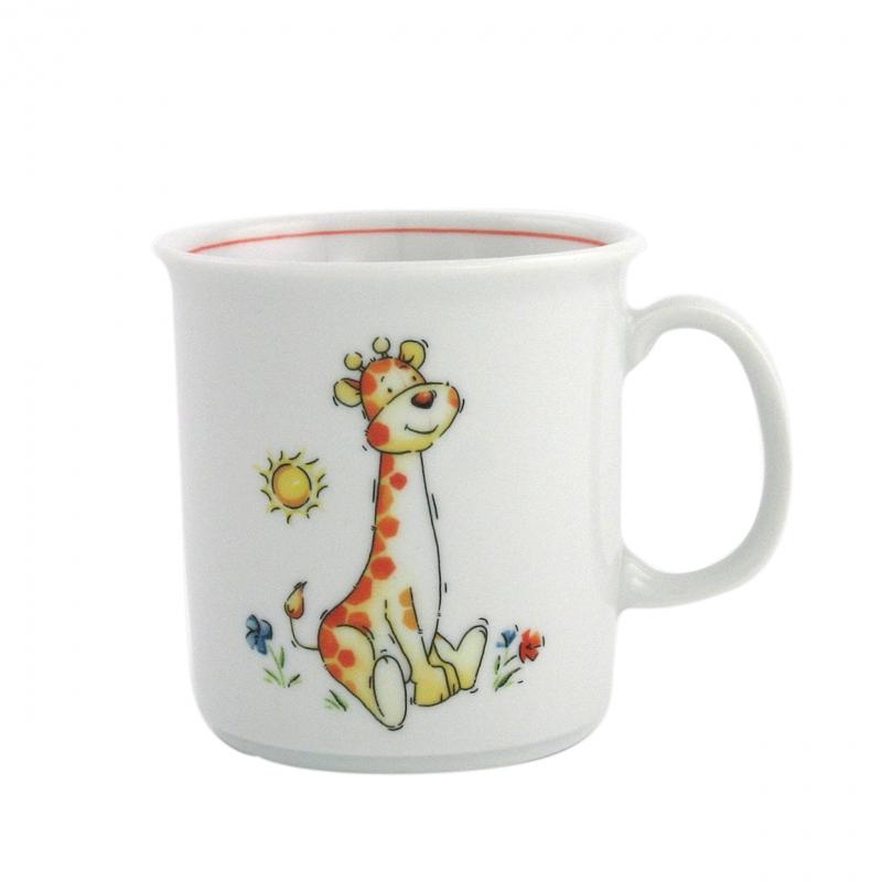 Kindergedecke | Giraffe | Becher mit Henkel 0,21l
