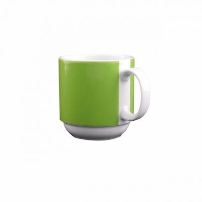 Color mit System | Grün | Becher mit Henkel 0,30l