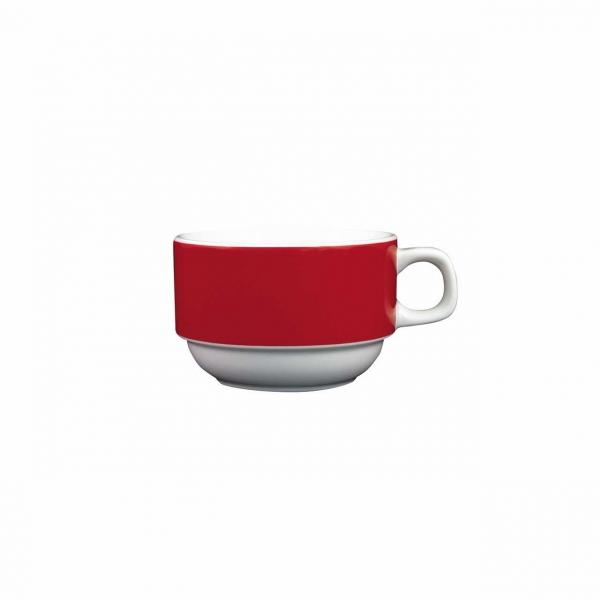 Color mit System | Rot | Obertasse 0,18l