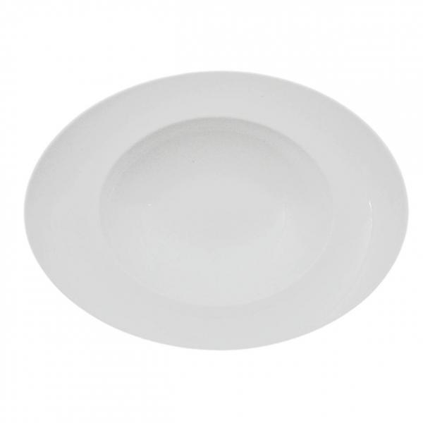 Universo | Weiß | Pastateller oval 20cm