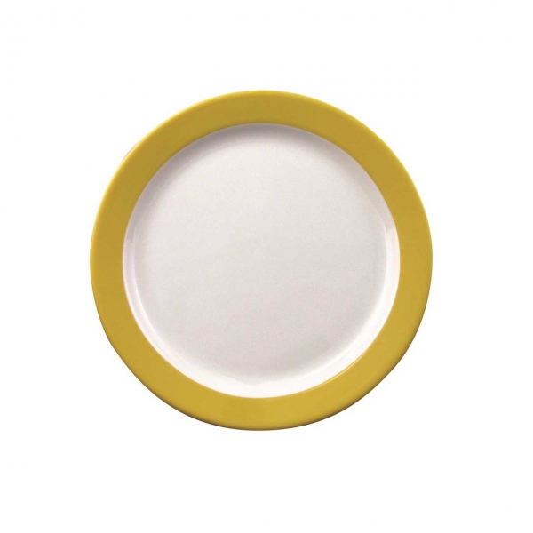 Color mit System | Gelb | Teller flach 19cm