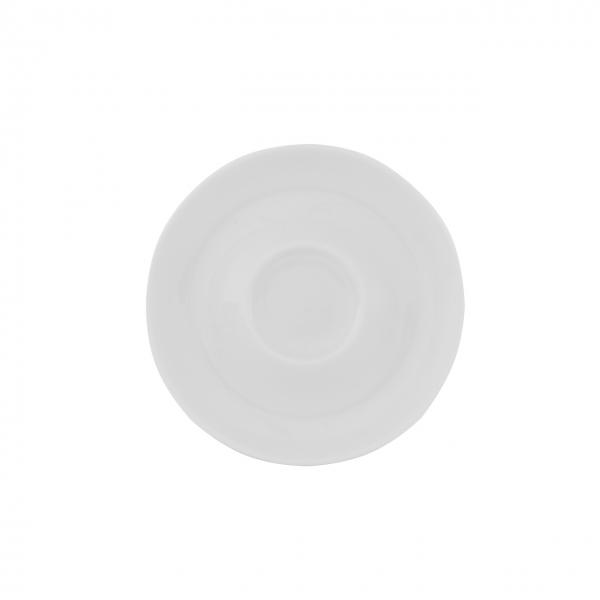 Baristar   Weiß   Untertasse mit Spiegel mitte 16cm