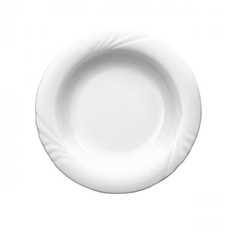 Ambiente | Weiß | Teller tief Fahne 22cm