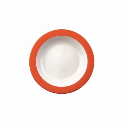 Color mit System   Orange   Teller tief 21,5cm